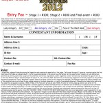 Entry form 2012 l