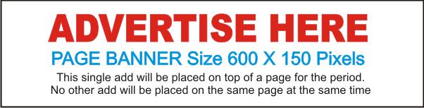 Pagebanner 600 X 150px