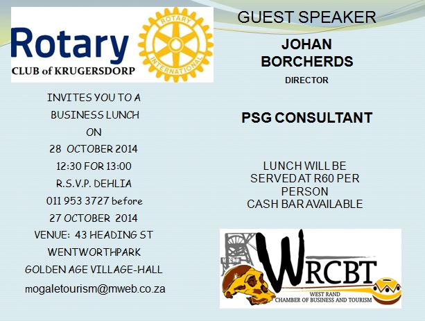 rotary lunch johan borcherds