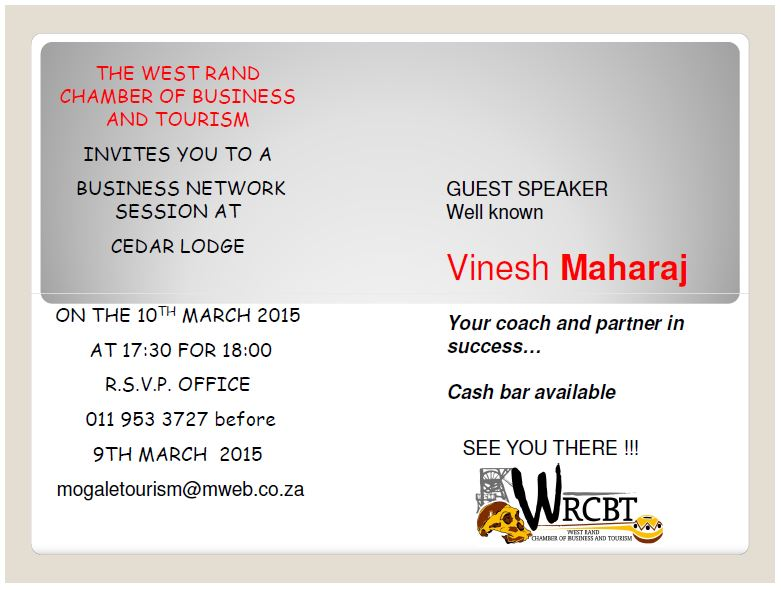 BUSINESS NETWORK 10 MARCH 2015